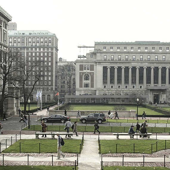 Columbia University at New York
