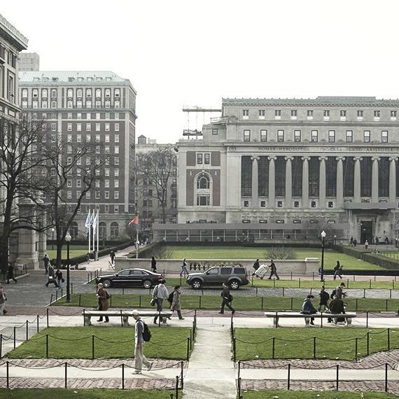 Columbia University at New York