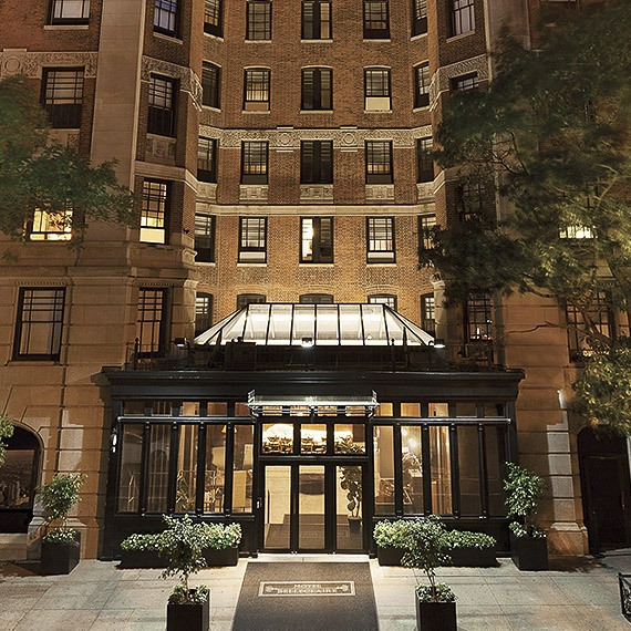 Hotel Belleclaire Exterior, New York