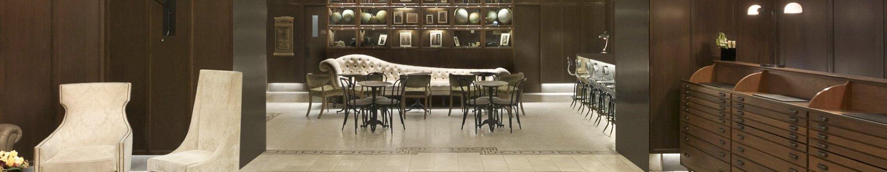 Hotel Belleclaire Lobby, New York