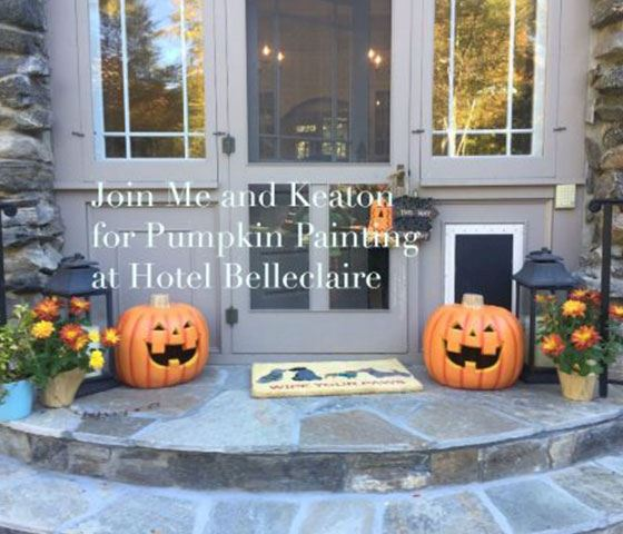 Join Luxury Travel Mom and Keaton for Pumpkin Painting in New York City - 2016-10-24