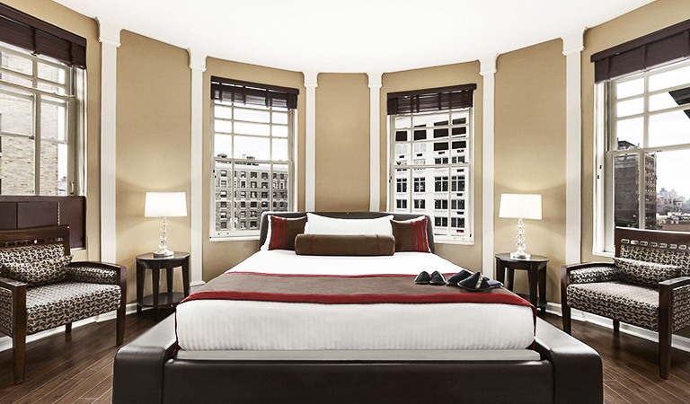 Boadway King Room at Hotel Belleclaire, New York