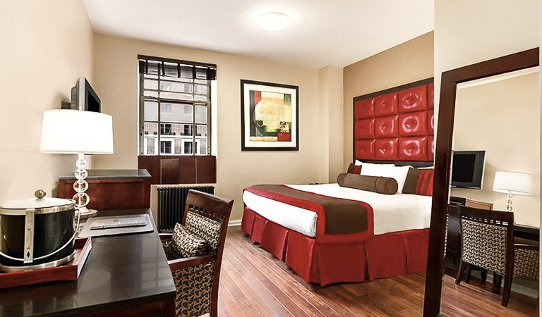 City View Room at Hotel Belleclaire, New York