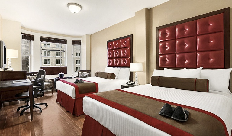 Deluxe Double Guestroom at Hotel Belleclaire, New York
