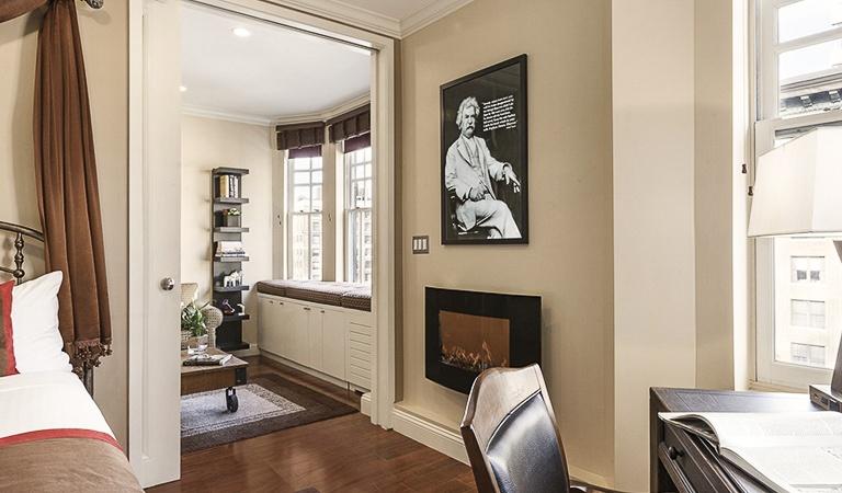 Hotel Belleclaire Mark Twain Suite, New York