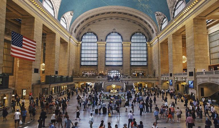 Midtown Manhattan & Grand Central Terminal at New York